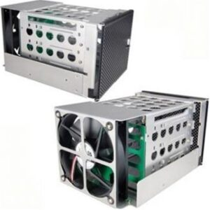 """4x3.5"""" SATA + SAS HDD Rackmount Kit Hot Swap With 120mm Fan & Filter - outlet"""