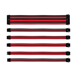 CoolerMaster Extension Cable RED/BLACK GL PVC