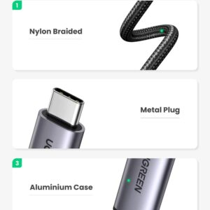 UGREEN USB-C To HDMI 2.0 4k/60Hz 1.5m Cable