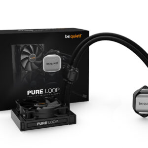 be quiet! Water CPU Cooling Silent Loop 2 120mm