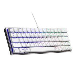 CoolerMaster SK620 White Keyboard - Swith Red