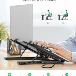 UGREEN Laptop Stand 5in1 with Docking Station
