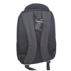 """Gold Touch 15.6"""" Laptop Backpack Black/Red"""
